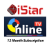 Istar  ONE YEAR Renew CODE for ALL Models- رمز تجديد ISTAR كود 1 سنة